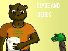 Clyde and Derek by BlueMoon63