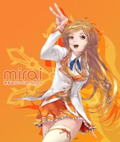 Mirai Suenaga -Winter Uniform- by saiki2