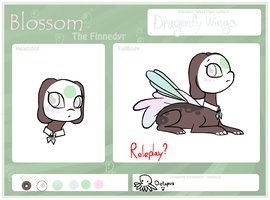 Blossom The Finnedyr by Starr-Eclipse