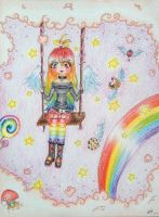 Contest entry :: Ambre, in the sky:: by MarchKitty