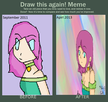 Draw me again! by dancewithanime