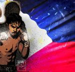Manny The Pacman Pacquiao by mytymark