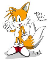 """Miles """"Tails"""" Prower by Kampidh"""