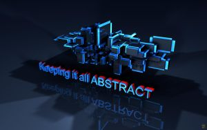 Keeping it all abstract - Wide by Ingostan