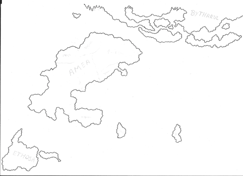 WIP World map of Orbis by RobinOfOrbis