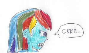Mad Equestia Girl Rainbow Dash by dth1971