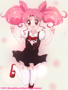 Collab: Chibiusa by KurumiErika