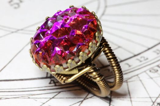 A Shiny ring i made by CatherinetteRings