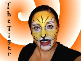 My new art face painting by elyandste
