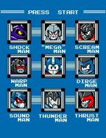 Defeat the Robot Masters by ninjaink