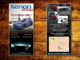 XenonShop Flyer by kamarademl