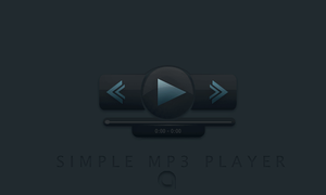 Simple MP3 Player PSD3 by Artemis-Graphics