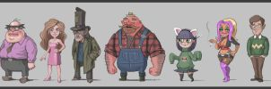 Clarence RPG Cast: Collect Them All!! by Pseudolonewolf