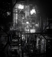 Abstract City by Long-Pham