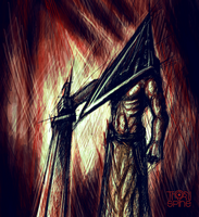 Pyramid Head by ThornSpine
