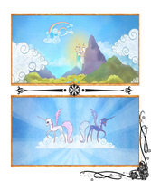 MLP Equestria Book Page Draft by SarahTaylorr