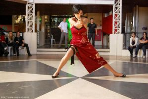 Cosplay: Ada Wong RE4 by pandorynha