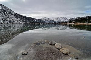 June lake calmness by yo13dawg