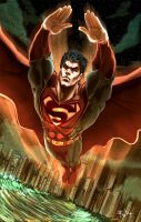 The Man of Steel Superman by ErikVonLehmann