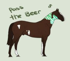 GW's Pass the Beer by SweetCatomine