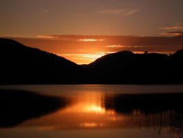Snowdon Sunset by mooseymuse