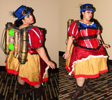Steampunk Snow White by AliceingJabberwocky