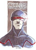 MARVEL CYCLOPS by Lapsus-de-Fed