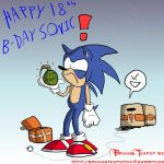 18 years of blue hedgehog by BrokenTeapot