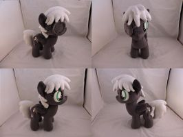 MLP OC Proverb Plush (commission) by Little-Broy-Peep