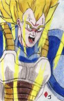Super Saiyan Vegeta by Jack-0f-Diam0ndz