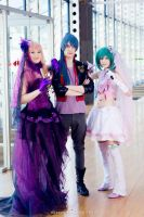 Macross Frontier ~ Sheryl, Alto and Ranka Lee by YamatoTaichou