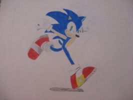 Super Smash Bros for Wii U/3DS Sonic the Hedgehog by Mario9919