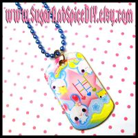 Kawaii Playground Dog Tag by SugarAndSpiceDIY