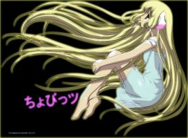 Chobits Chii Wallpaper 2 by Me by gamera68