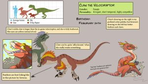 [Ref] Claw the Velociraptor by SylxeriaGuardian