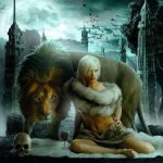 The girl and the Beast by sasha-fantom