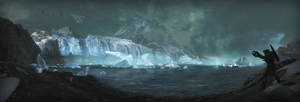 Babd Catha ice shelf by 2900d4u