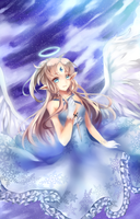 Angelic Christmas by Crystallized-Rin