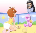 The Baby Card Saga Bad Ending by The-Padded-Room