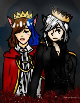 A pair of kings by allieglimmer