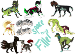 More adopts by MochaPupp