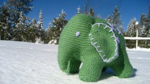 Flo the Elephant #4 by GarnetKimzey