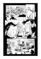 Grimm Fairy Tales 2013 Holiday Edition Ink Page 33 by Kofee77
