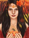 Autumn Queen by mallettepagan0
