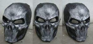 Punisher Mask 1-1Repaint Test by Uratz-Studios