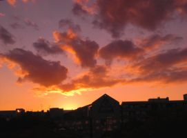 Sunset Over Berlin 52 by ErinM2000