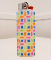 Perler Bead Lighter Case by lightercases