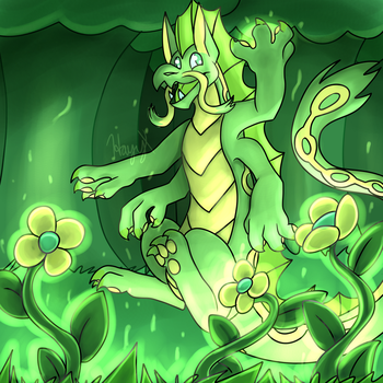 Lenny in Nature by hayy1