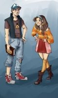 Gravity Falls - Grown Up by irezel