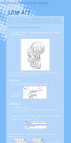 Tutorial- LineArt by criis-chan